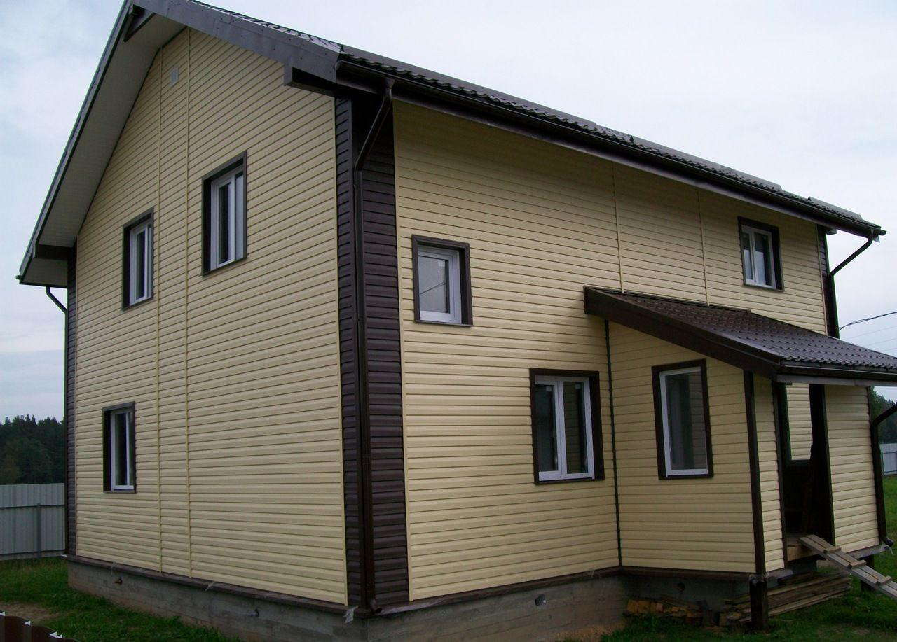 Дизайн фасадов из металлосайдинга