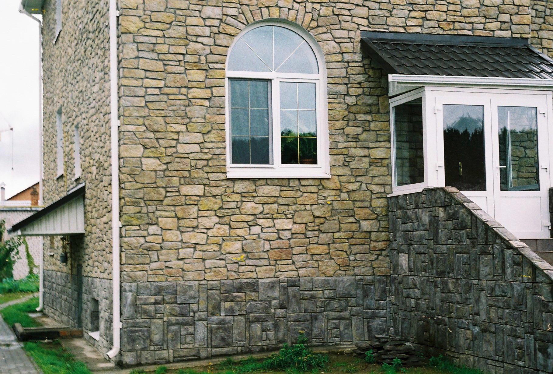 Фасадный камень для наружной отделки дома своими руками 37
