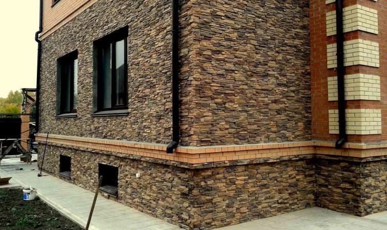 Фасад из декоративного камня своими руками 51